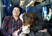 Sleep-Deprived Train Ride