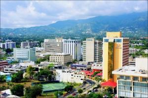 Kingston Jamaica Cityscape