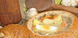 zurek soup sourdough bread bowl