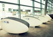 GoSleep Sleep Pods in Abu Dhabi International Airport.