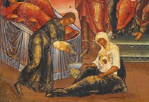 Nativity of the Virgin Birth of Mary Icon