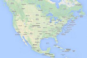 Северная Америка / North America