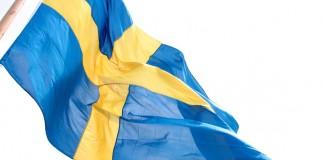 Swedish Flag Флаг Швеции Sweden Flag