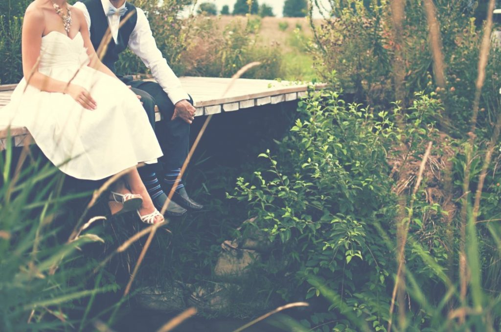 Couple at a Stream