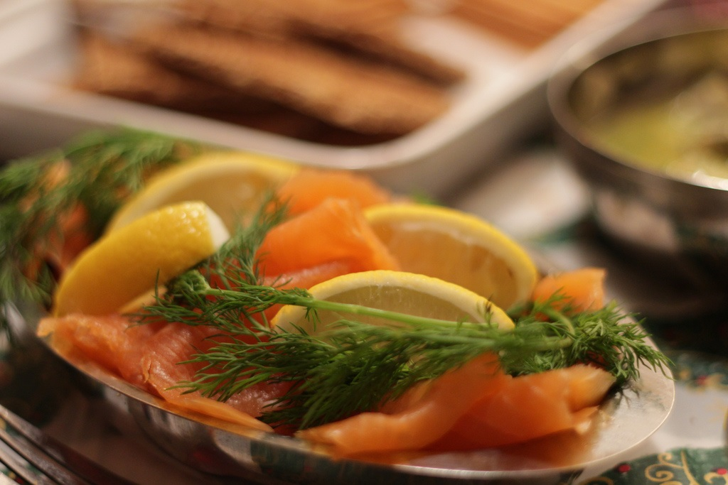 Gravlax Dill Salmon / Гравлакс Укроп лосося