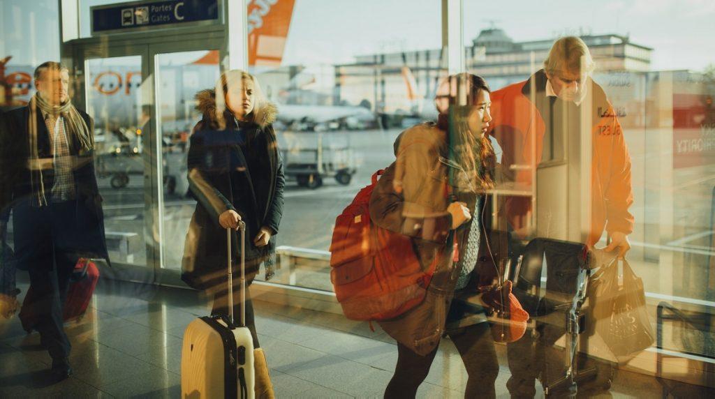 airplane boarding enplane