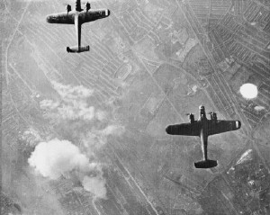 German-Bombers-over-London-WWII