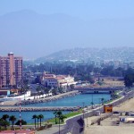 Skyline of Ensenada