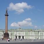 Зимний дворец с Александровской колонной