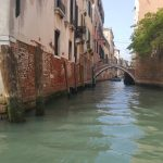 On Gondola En Route to Murano Island Venice (2)